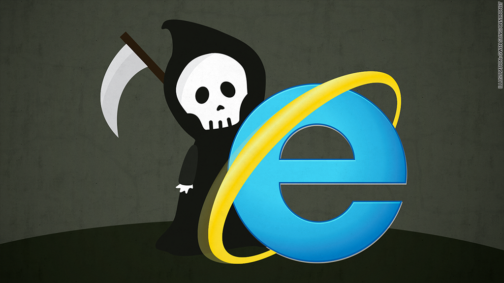 Internet explorer breaks everything again